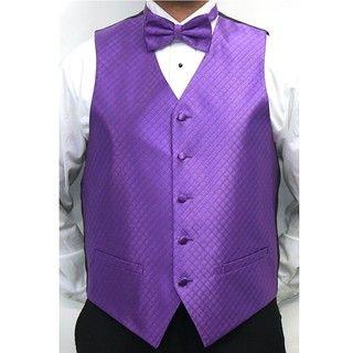 Ferrecci Mens Four piece Vest Set