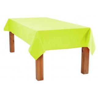 NAPPE COTON 150X250 ANIS   Choisissez ces nappes aux couleurs sobres
