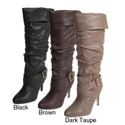 Adi Designs Womens Betsy 15 Strappy Knee high Boots
