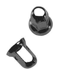 Dicor F2 LNC 8C 1 1/16 Stainless Steel Lug Nut Cover