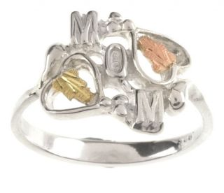 Black Hills Gold Silver Mom Ring Today $38.99 4.6 (19 reviews)