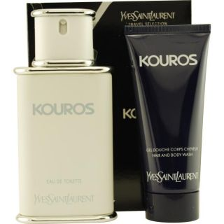 Yves Saint Laurent Kouros Mens Three piece Fragrance Set