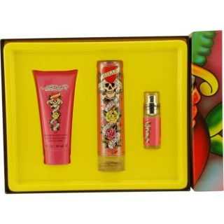 Christian Audigier Ed Hardy Womens Three piece Fragrance Set