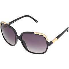 NEW CHLOE SUNGLASSES CL 2221 BLACK CO1 AUTH: Clothing