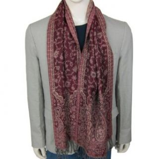 India Clothes Neck Scarves for Men Wool Fabric Clothing