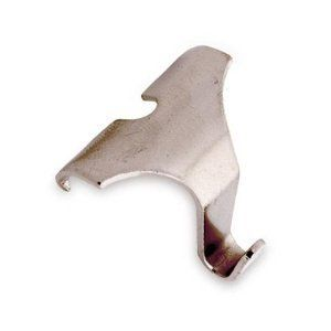Molding Picture Frame Hook Satin Nickel Small 1 3/8