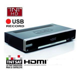 Terminal TNT SAT HD THS800 Thomson   Achat / Vente RECEPTEUR TV TNT