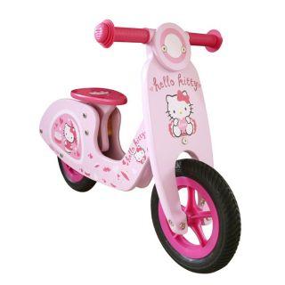 Darpeje   Draisienne Hello Kitty   Vélo sans pédale en bois   Pneus