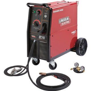 Lincoln Electric Power MIG 216 230V Flux Cored/MIG Welder   250 Amp