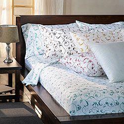 Bella 300 Thread Count Cotton Sheet Set