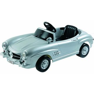 Kalee Mercedes Benz 300Sl Silver Ride on Car