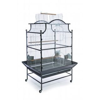 Prevue Pet Products Black/ Pewter Pagoda Parrot Cage