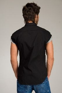 Diesel Storny Black Short Sleeve Shirt for men