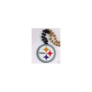 Steelers Medallion Bead Necklace