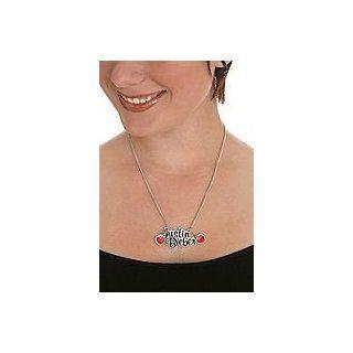 Justin Bieber Heart Necklace