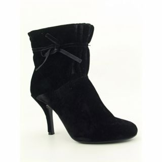 Baci Womens Master Black Ankle Boots (Size 7.5)