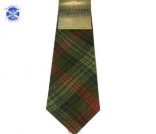 Ross Hunting Tartan (Weathered) Soft Pure Wool, Mens Tie