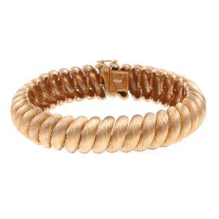 18k Rose Gold San Marco Estate Bracelet