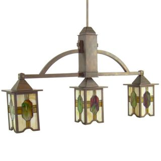 Kichler Three Light Tiffany Pendant