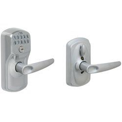 Schlage FE595PLY626JAZ Plymouth Keyless Lock Exterior Door Hardware
