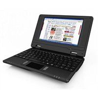 7 Mini Netbook Laptop Notebook WIFI Windows Black Netbook