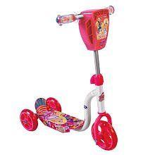 Dynacraft 3 Wheel Preschool Scooter   Barbie: Toys & Games