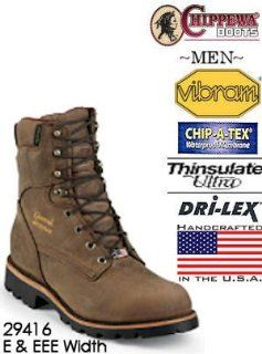 Chippewa UTILITY 8 Crazy Horse Waterproof 29416 Shoes