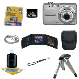 Olympus FE 310 Digital Camera with Bonus Kit (Refurbished)