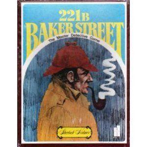 221 B Baker Street The Master Detective Game: Toys & Games