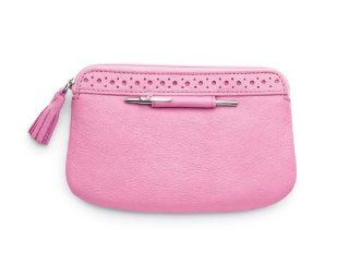 Cross Breast Cancer Awareness Leather Pouch and Mini Pen