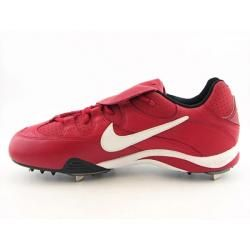 Nike Mens Air Clipper Pro Red/White Baseball Cleats (Size 15