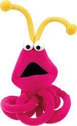 Sesame Street Martian 5 Plush Doll Toy Toys & Games