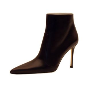 Versace Womens Brown Stiletto Ankle Boots
