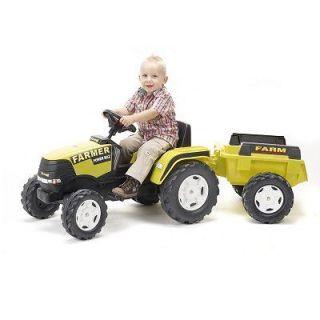 FALK FALQUET   Tracteur à pédales Farm Power Max + Remorque_x000D