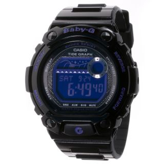 Casio Womens Baby G Multi Function Digital Resin Sport Watch
