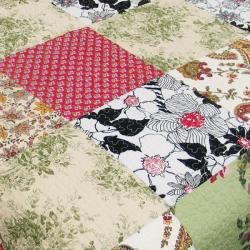 Julies Garden King size Quilt Set