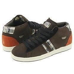 Lakai MJ 3 HI Chocolate Pebble Nubuck Plaid All Weather