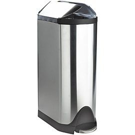 simplehuman CW1431 30 Liter Butterfly Step Can, Brushed