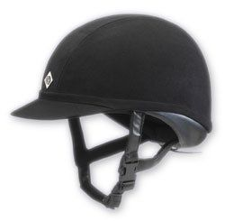 Charles Owen Wellington Pro Helmet   Black Sports