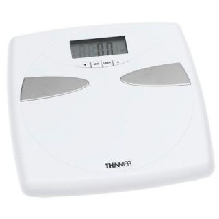 Conair Thinner Body Fat Analysis Weight Scale