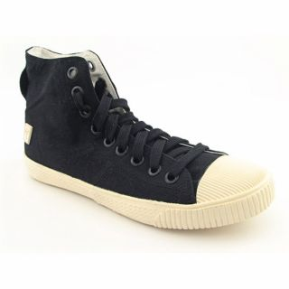 FCUK French Connection Mens Mayo Black Casual Fashion Sneaker Shoes