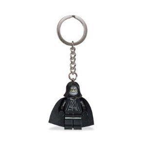 Star Wars LEGO Emperor Palpatine Keychain 2011 Blue Tag