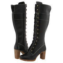 Timberland Urban Animae 14 inch High heel Black Boots