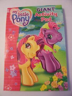My Little Pony Giant Activity Pad ~ 224 Pages Toys & Games