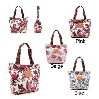 Nikky Miriam Rose Print Tote Bag