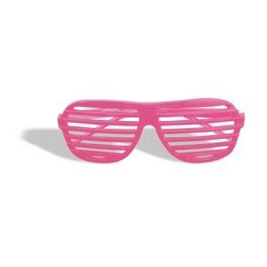 80s Slot Glasses (Neon Pink) Accessory Clothing