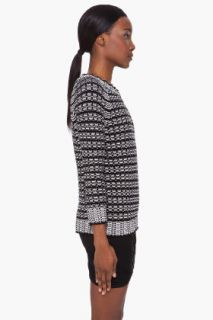 Surface To Air Black & White Bivi Sweater for women