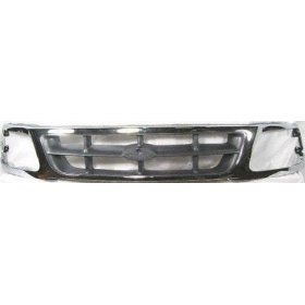 Chrome Grille Grill 1997 1998 Ford F150 F250 Pickup Truck