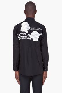 Comme Des Garçons Shirt Black Star Wars Shirt for men