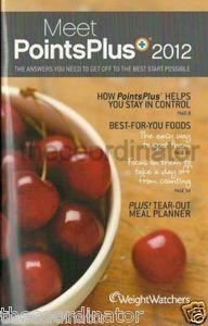 Weight Watchers Meet Points Plus 2012 Books